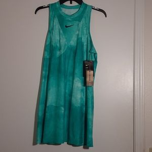 Nike Maria Sharapova Teal Tennis Dress size Large